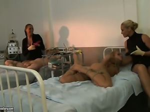 Blonde Mandy Bright licks pussy like no other and Andrea Legacy knows it