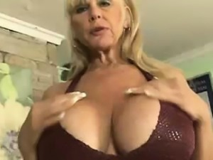 Grandma Lets This Guy Relieve Letting Him Fuck His Juggs
