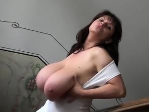 Big tits anal squirt