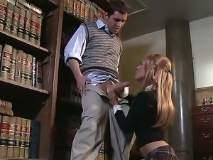 A lovely school girl Kirsten Price is here and she is here to show us her...