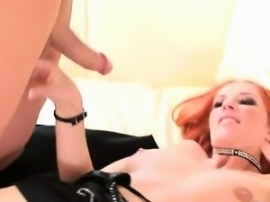 Not only has this lady never had a large cock, she\'s never
