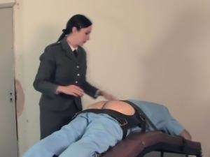 Female tickle orgasm forced