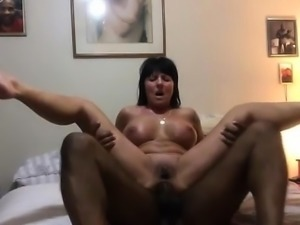 Hot amateur Grandma assfucked by a BBC