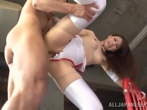 race queen yui takes my cock deep