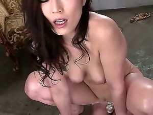This hot bitch is a really hot Asian solo girl and shes enjoying her solo,...