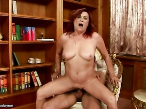 Lupita gets a mouthful of dick in blowjob action with horny fuck buddy