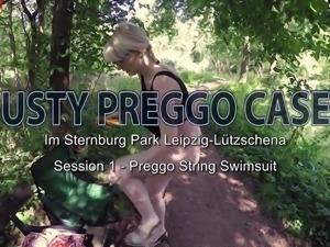 Casey Deluxe - 16te Woche - Preggo Shooting im Park