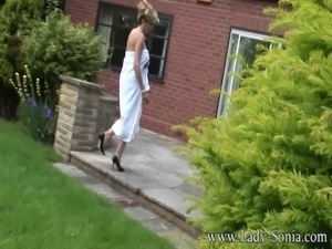 Lady Sonia The Voyeur And The Naked Housewife free