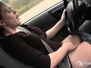 Lou Lebonne cums in the car