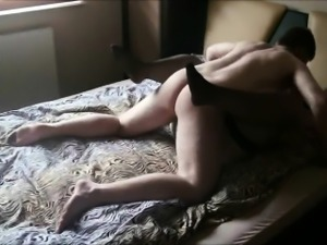 Fat MILF having sex with her new amore