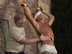 Bound young gay boys sex tube Slave Boy Made To Squirt