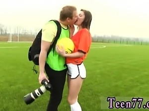 Girls watch cumshot Dutch football player pounded by photogr