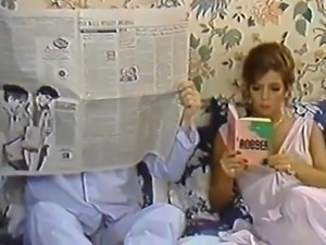 Karen Summer, Nina Hartley in porn classic clip with a