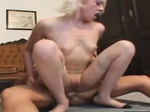 image Fakeshooting filled mouth with cum for cute blonde on fake casting