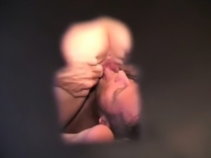 voyeuring my aunt and uncle through a keyhole
