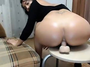 Friends Mother Rdes dildo in ass on cam - www.thefoxyhub.com