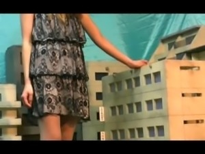 Pantyhose Giantess