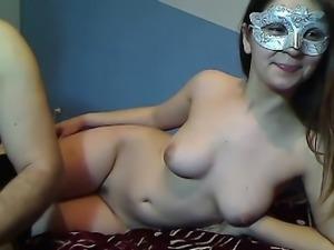 Cute Teen Spreads Pussy on Webcam