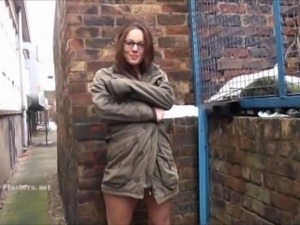 Amateur exhibitionist Beauvoirs public masturbation and outdoor flashing