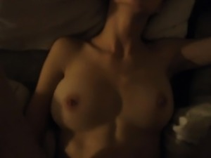 Hot Big Tit Amateur Dirty Talk and Cumshot