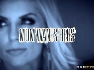 Brazzers - Milf Ashley Fires takes her daughters man