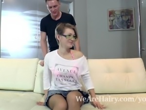 Yulenka Moore gets fucked hard by her sexy lover