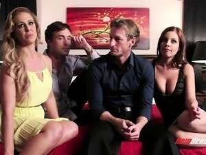 Swingers are talking about what makes it so exciting to fuck different people