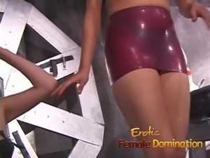 Behind the scenes video of Fifi's trip to the dungeon