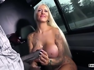 Lena Lay- Black stud fucks blonde German slut