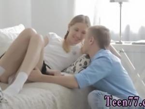 Blonde teen rough anal Eva smashing her classmate