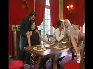 Italian 4some FFMM Sex