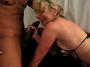 blonde wife loves her black lover