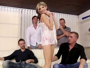 hardcore gangbang of gina gerson @ 4 on 1 gang bangs