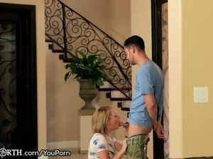 Step-Sister sneaks Her Brother into the Bedroom