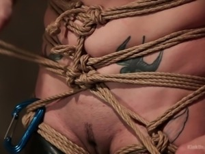 You may be in the mood at some point to get tied up without a dominant doing...