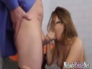 hot girl for money is left to do hard anal sex loves to suck this perverted