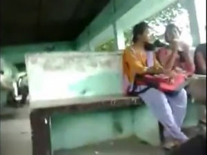 Cumming to 3 REAL INDIAN Girls in Public