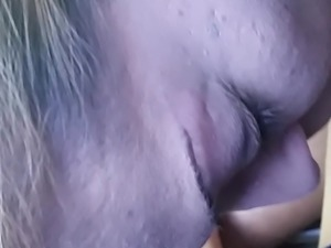 Sarah blows me and I cum in her mouth