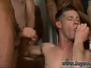 Hairy blonde men cumming gay full length