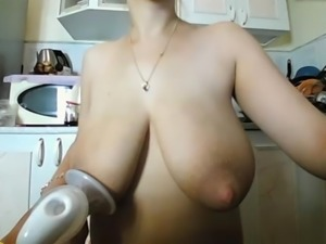 Milk maiden pumping milk