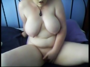 Fat Chubby Teen friend fingering her wet pussy daily