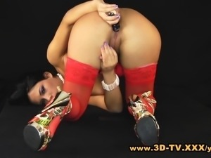 3D-TV.xxx present 18yo Amabella in the Virtual Room