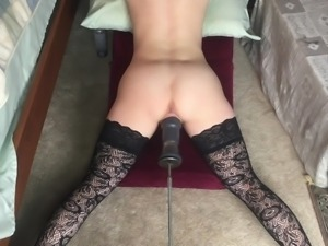 Tiney Girl Fucked by Machine 2
