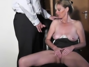 blackmailing dad for cock play