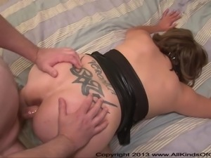 4 Foot 9 Inch Tall Mexican BBW Mom Gets Ass Fucked ANAL MILF