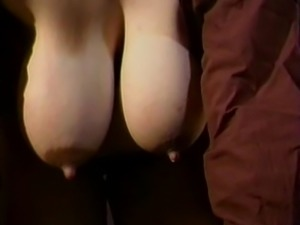 Mom's huge lactating boobs need relief 6