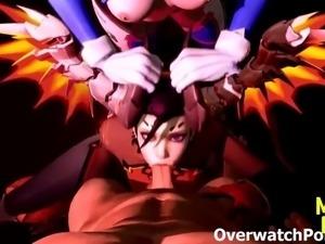 Overwatch DVa Futanari