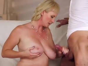 Caught Mom Playing With Her Ass.M13
