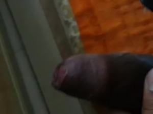 Owner Showing dick to maid