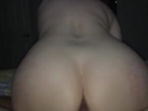 Big butt riding me reverse